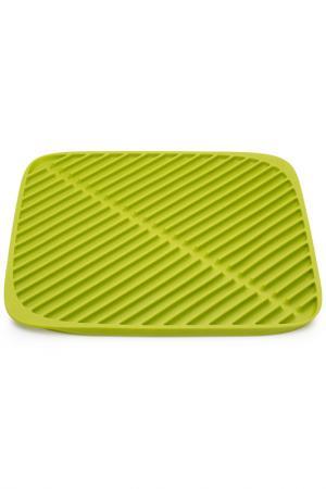 Коврик для сушки посуды Joseph. Цвет: зеленый