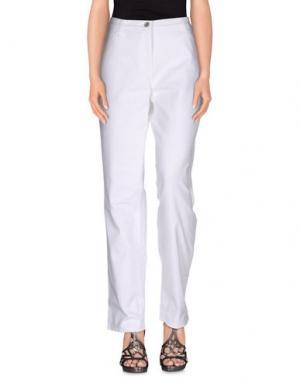 Джинсовые брюки BRAX. Цвет: белый