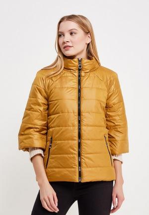 Куртка утепленная SK House. Цвет: желтый