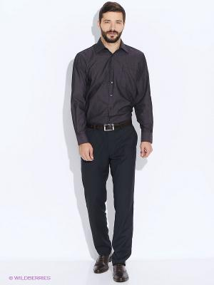 Рубашка Conti Uomo. Цвет: темно-коричневый