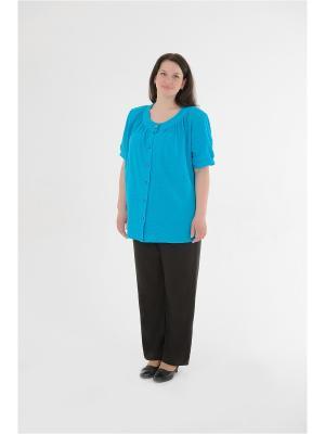 Блузка женская БаяНа. Цвет: бирюзовый