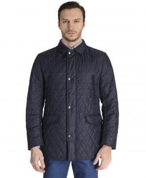 Куртка  JK-0140 NAVY HENDERSON. Цвет: синий