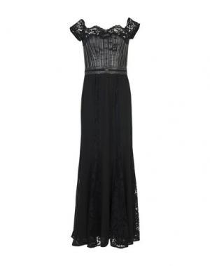 Длинное платье EUREKA. Цвет: черный