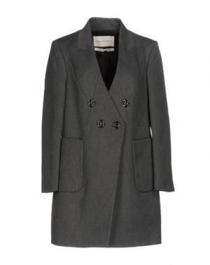 Пальто TWENTY8TWELVE. Цвет: свинцово-серый
