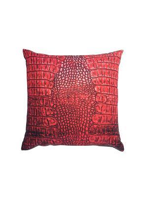 Подушка Gift'n'Home. Цвет: антрацитовый, красный