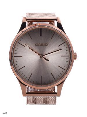 Часы LTP-E140R-9A CASIO. Цвет: золотистый