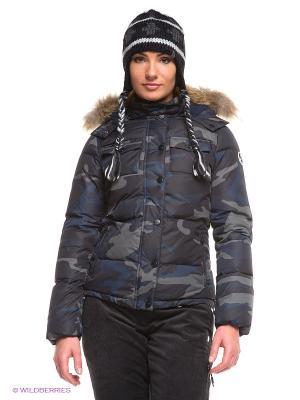 Куртка North Sails. Цвет: темно-синий, серый