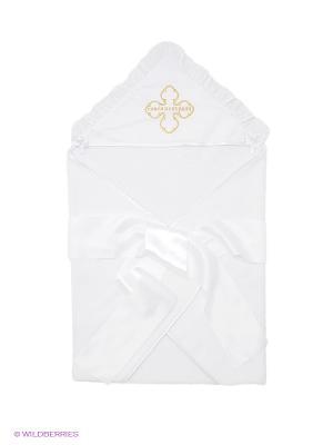 Полотенце-накидка Ангел мой. Цвет: золотистый, белый