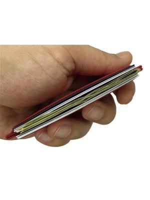 Мини кошелек кардхолдер K.So.U-Five K.So.. Цвет: красный