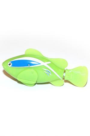 Рыбка-робот «Funny fish» BRADEX. Цвет: зеленый
