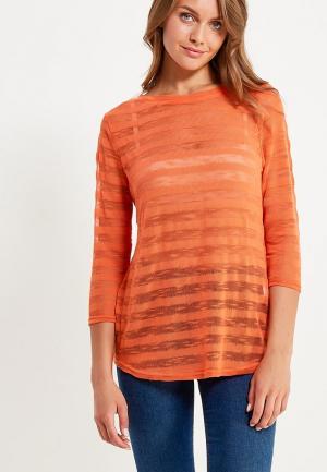 Лонгслив OVS. Цвет: оранжевый