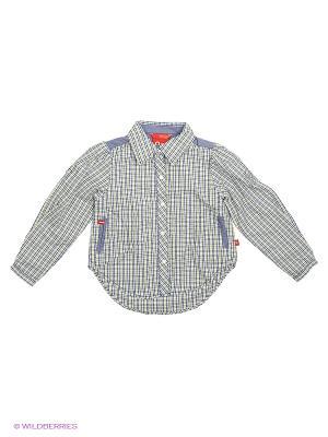 Рубашка Reima. Цвет: желтый