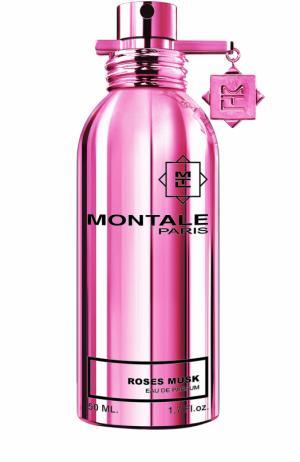 Парфюмерная вода Roses Musk Montale. Цвет: бесцветный