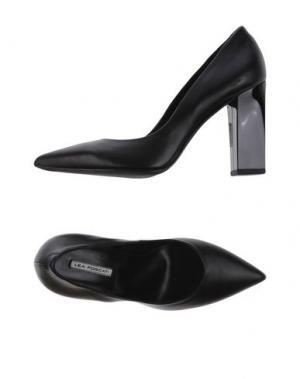 Туфли LEA FOSCATI. Цвет: черный
