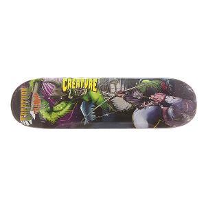 Дека для скейтборда  S6 Graham Ogre1 32.57 x 8.8 (22.4 см) Creature. Цвет: мультиколор