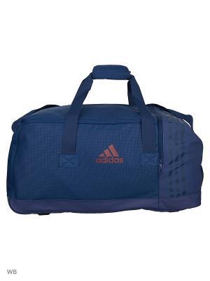 Спортивная сумка взр. 3S PER TB M MYSBLU/MYSBLU/MAROON Adidas. Цвет: синий