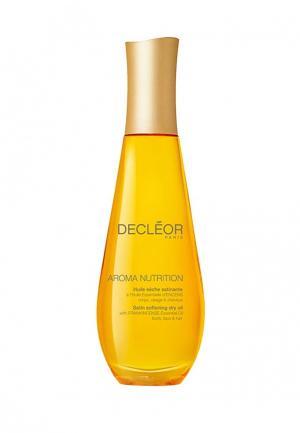 Сухое питательное масло для лица, тела и волос 100 мл. Decleor. Цвет: желтый