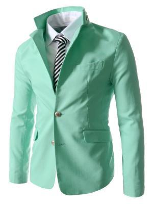 Пиджак VipDressCode. Цвет: светло-зеленый