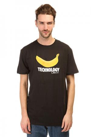 Футболка  Banana Tech Tee Black Lib. Цвет: черный