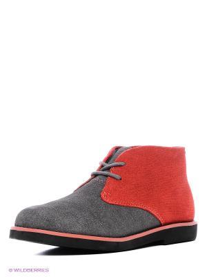 Ботинки Florsheim. Цвет: красный, серый