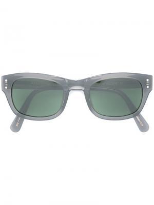 Солнцезащитные очки Nebb Moscot. Цвет: серый