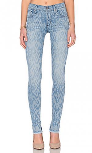 Джинсовые леггинсы с 5 карманами james twiggy Jeans. Цвет: none