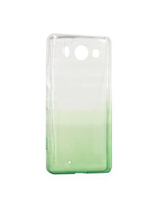 Крышка задняя для Nokia 950 Силикон IQ Format. Цвет: зеленый