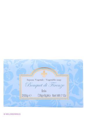 Высококачественное растительное мыло Iteritalia. Цвет: голубой