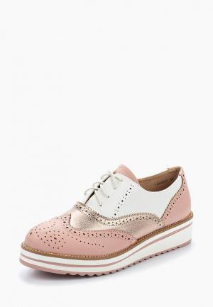 Ботинки La Bottine Souriante. Цвет: розовый
