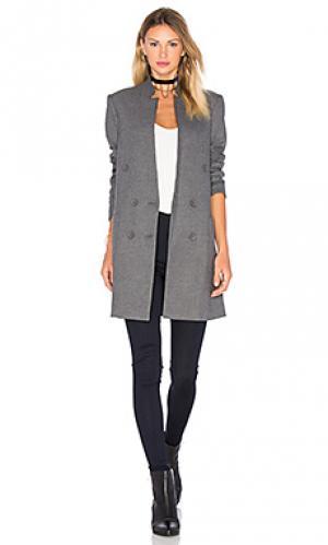 Прямой пиджак с накладным карманом James Jeans. Цвет: серый