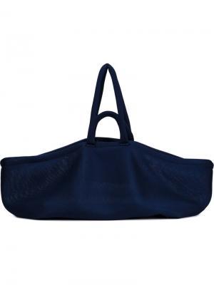 Сетчатая сумка Aeki Jasmin Shokrian. Цвет: синий