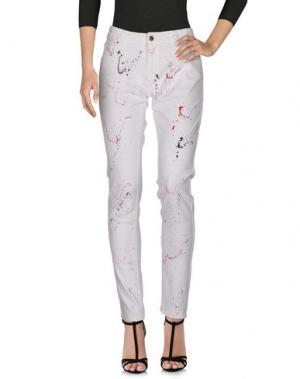 Джинсовые брюки ROSEANNA. Цвет: белый