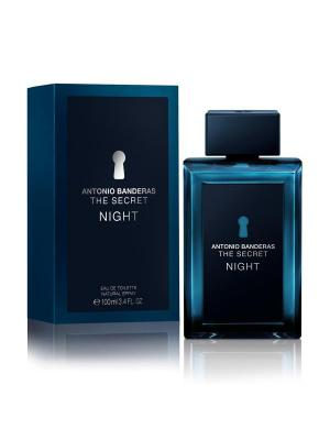 Secret Night man edt 100 ml ANTONIO BANDERAS. Цвет: темно-синий