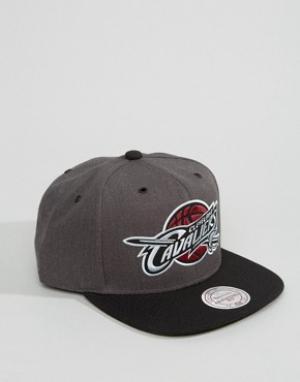 Mitchell & Ness Бейсболка G3 Cleveland Cavaliers. Цвет: серый