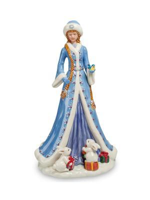 Статуэтка Снегурочка (Pavone) Pavone. Цвет: белый, голубой