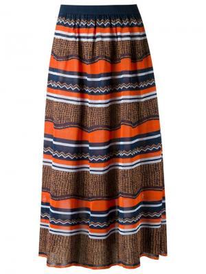 Knit midi skirt Gig. Цвет: многоцветный