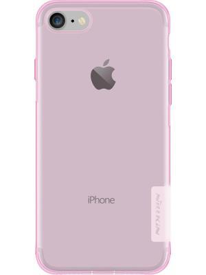 Накладка Nillkin Nature TPU case для Apple iPhone 7. Цвет: розовый