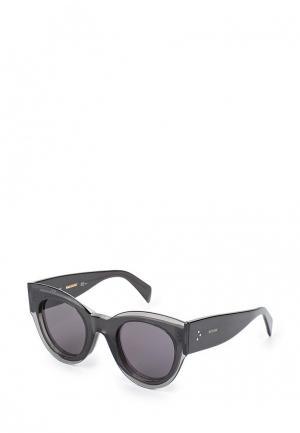Очки солнцезащитные Celine. Цвет: серый