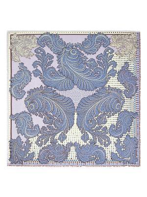 Платок Eleganzza. Цвет: синий, кремовый, сиреневый