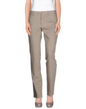 Повседневные брюки ALTEA dal 1973. Цвет: светло-серый