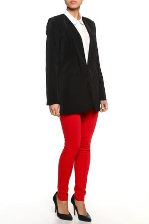Пиджак TWIN-SET JEANS. Цвет: черный