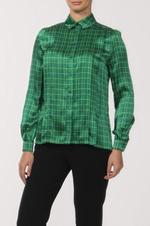 Блузка Jonathan Saunders. Цвет: зеленый
