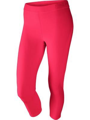 Капри W NP HPRCL CPRI SUMM WASH Nike. Цвет: розовый
