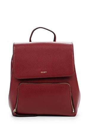Рюкзак DKNY. Цвет: бордовый