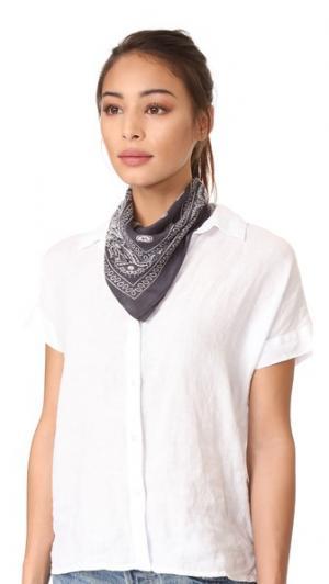 Узкий шарф в стиле банданы Chan Luu