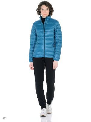Куртка Guahoo. Цвет: морская волна