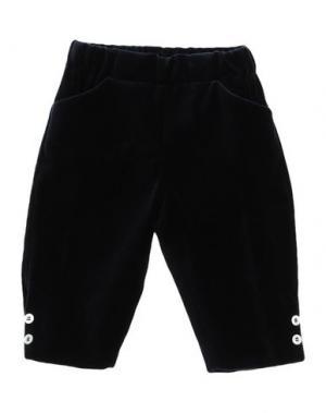 Повседневные брюки LA STUPENDERIA. Цвет: темно-синий