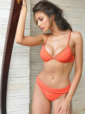 Бикини Grimaldimare. Цвет: оранжевый