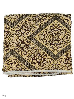 Гобеленовое покрывало ЛЮКС, 150*200 Dorothy's Нome. Цвет: светло-желтый, коричневый