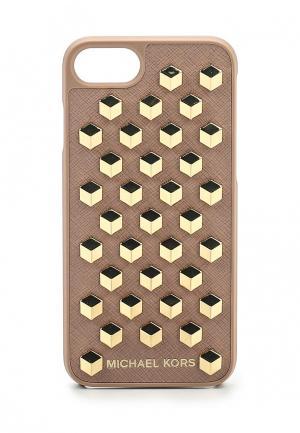 Чехол для iPhone Michael Kors. Цвет: бежевый